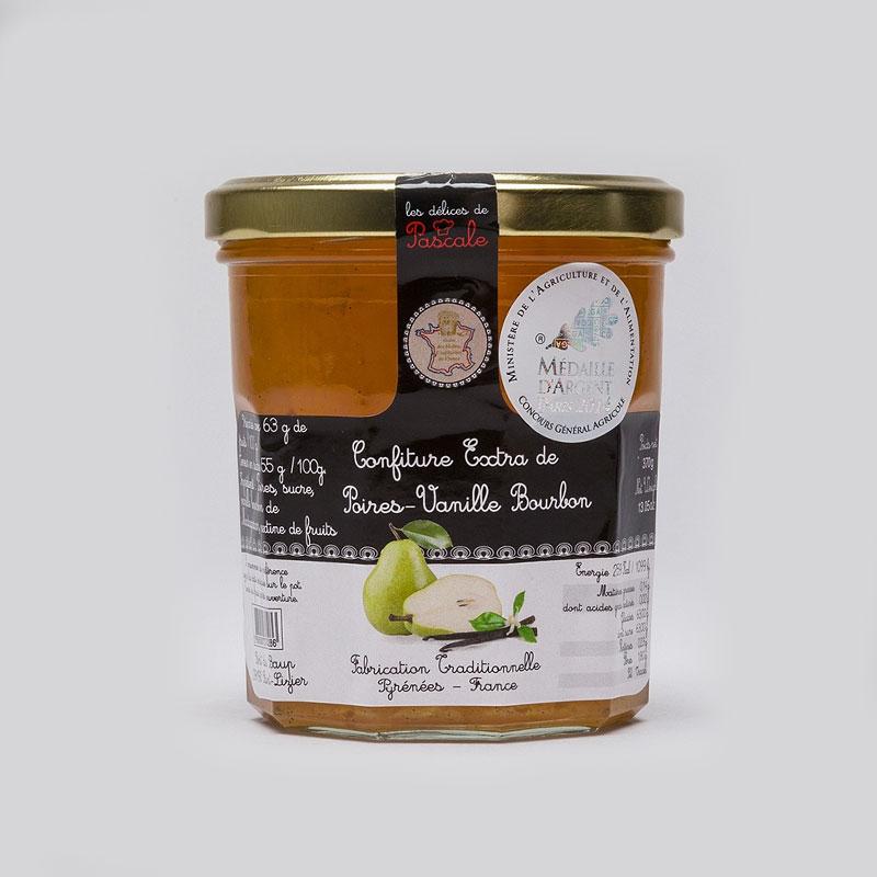 Confiture Poires-Vanille de Bourbon