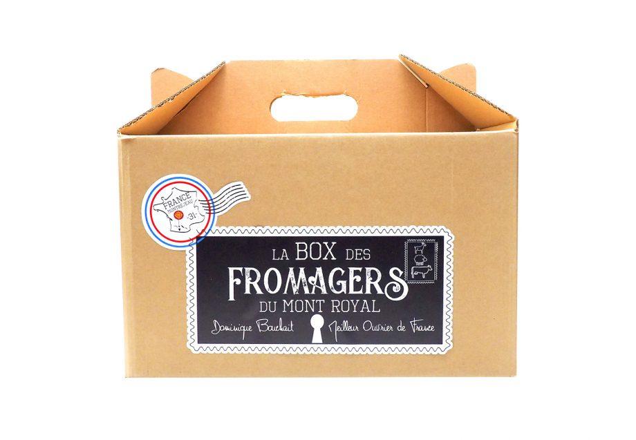 Faites vous livrer à domicile une box de Fromages sélectionnés par Dominique Bouchait Meilleur Ouvrier de France