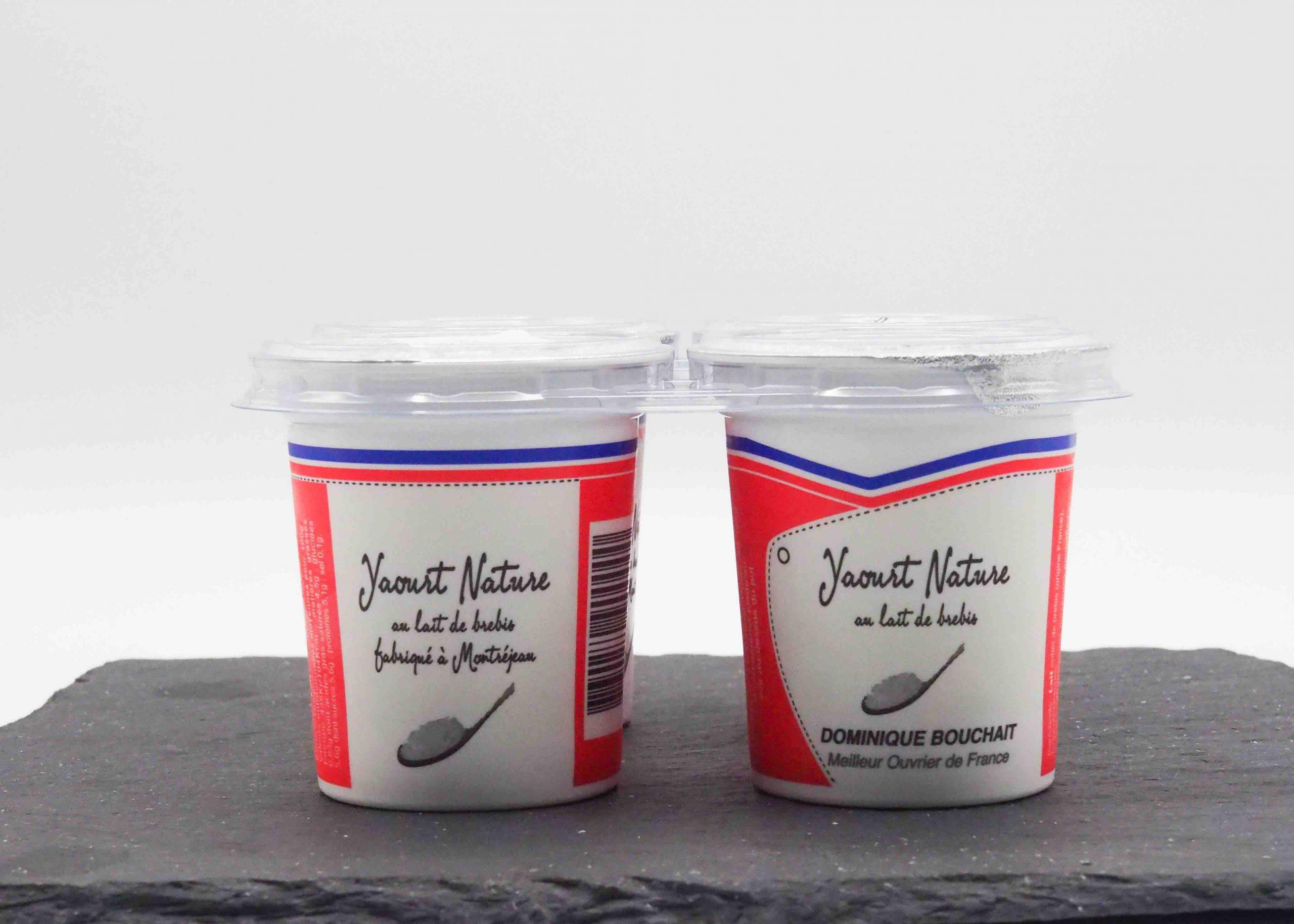 Vente de yaourt en ligne par Fromage Napoleon Meilleur Ouvrier de France Dominique Bouchait